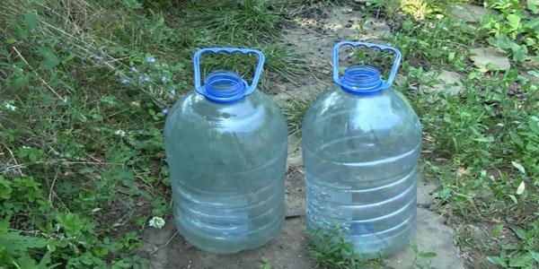 Берем пластиковые бутылки