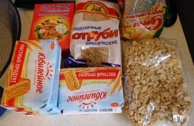 Ингредиенты для подкормки