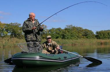 Ловля щуки с лодки