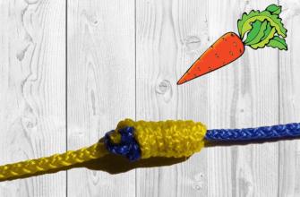 Узел морковка для шок лидера