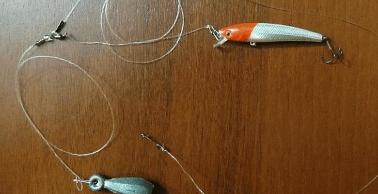 Отводной поводок на судака