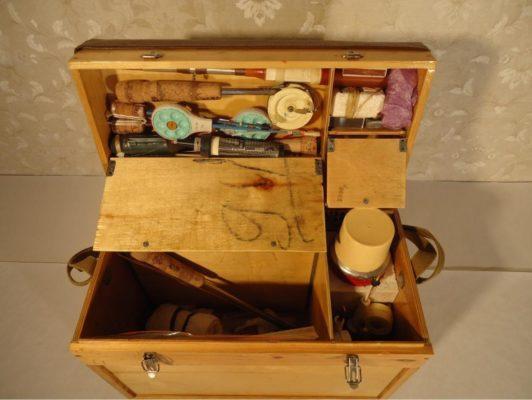 Ящик для зимней рыбалки из фанеры